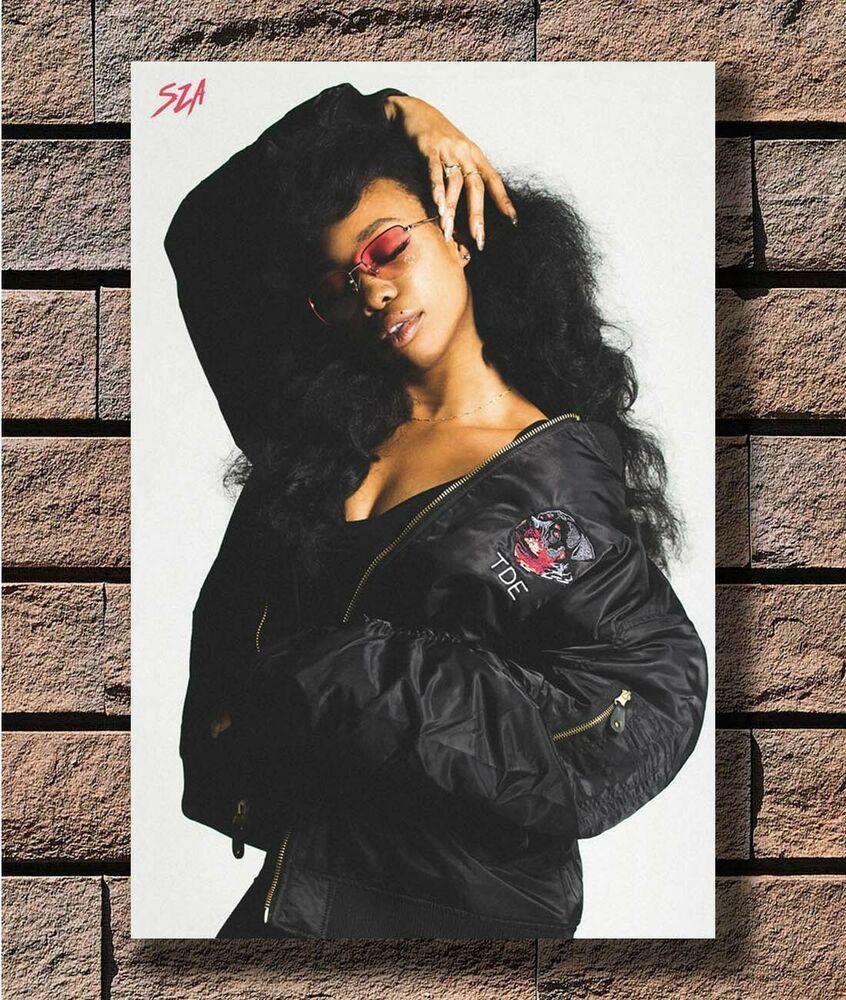 Art Poster 24x36 27x40 - Sza Hot Pop Top Soul Music Singer T-2797