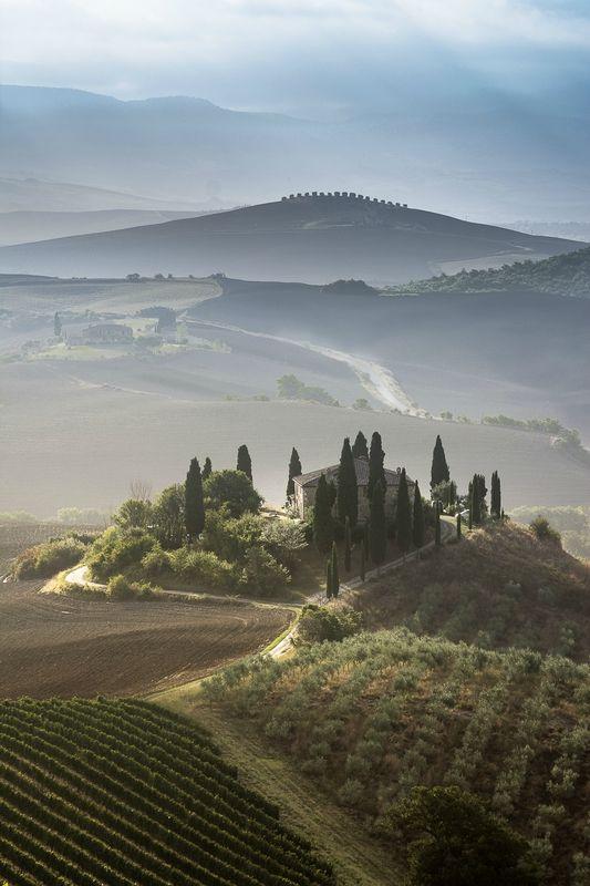 Les Plus Beaux Villages De Toscane : beaux, villages, toscane, Village, Toscane, Photo, Arrêt, Images, Paysage,, Italie, Photos, Paysage