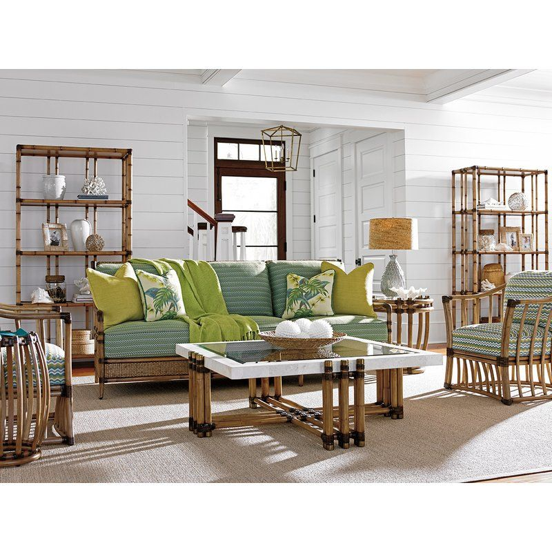Twin Palms Seven Seas Etagere Bookcase Living Room Decor Family Living Rooms Decor #tommy #bahama #living #room