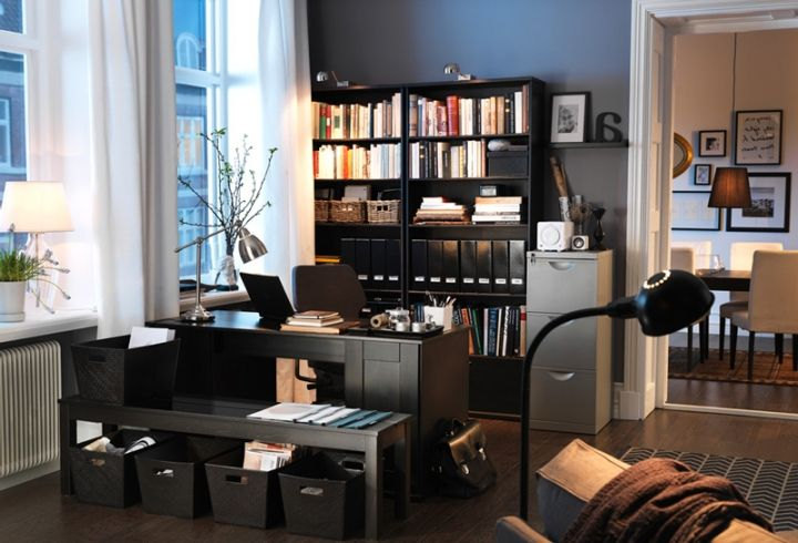 Büro design ideen  IKEA Home Office Design Ideen - Loungemöbel | Loungemöbel ...