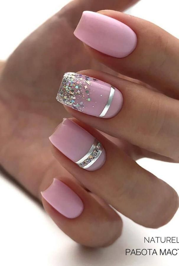 In The Summer of 2020, The Fashion Pink Short Nail Art Design Came - Lily Fashion Style