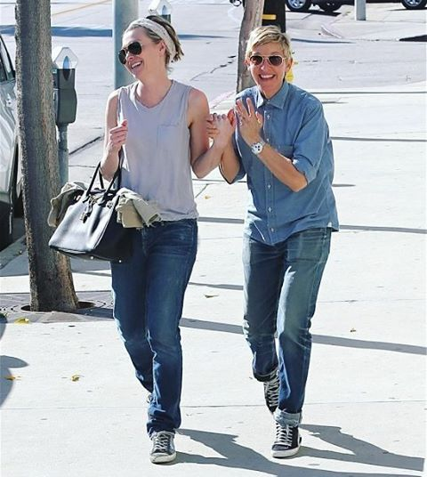 ❤ #EllenDeGeneres #PortiaDeRossi