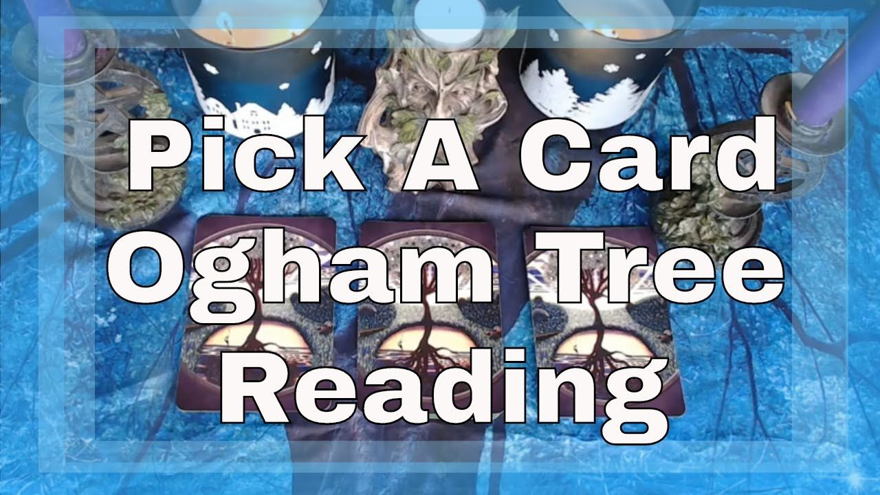 Pick a card celtic ogham tree reading tarot by sonia