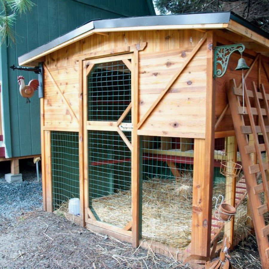 50 Simple DIY Chicken Coop designs you can try for the ...