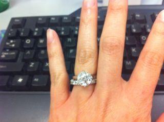 Beautiful ring, beautiful set!