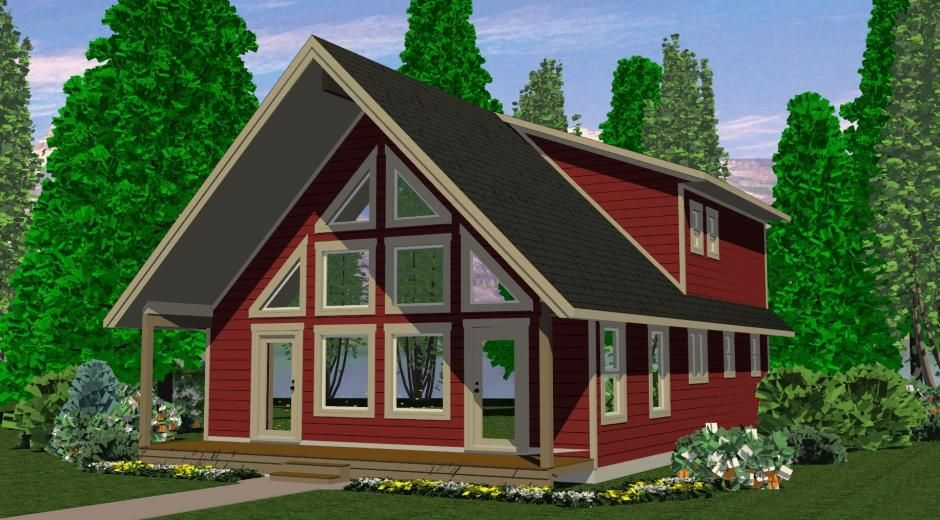 The Vancouver Prefab Cabin And Cottage Plans Winton Homes Prefab Cabins Cabins And Cottages Cottage Plan