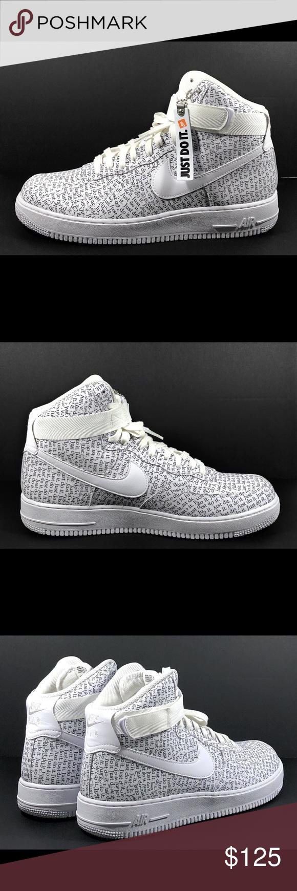 Nike Men Nike Air Force 1 High Lv8 'Just Do It' Aq9648