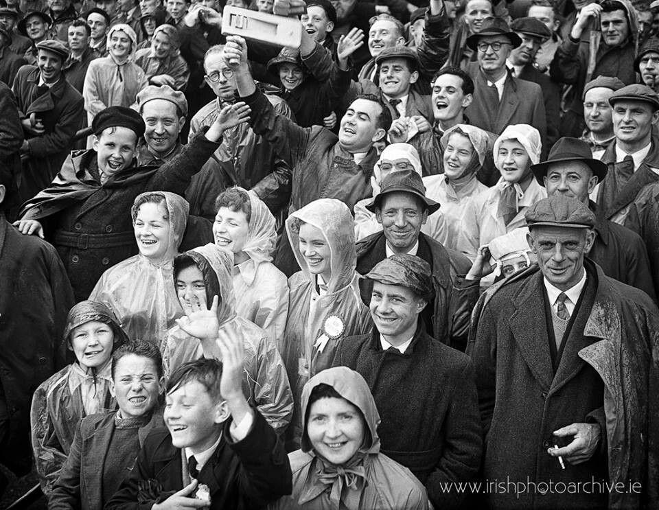 8-24-1958 Football (Ireland's Kerry + Dublin)