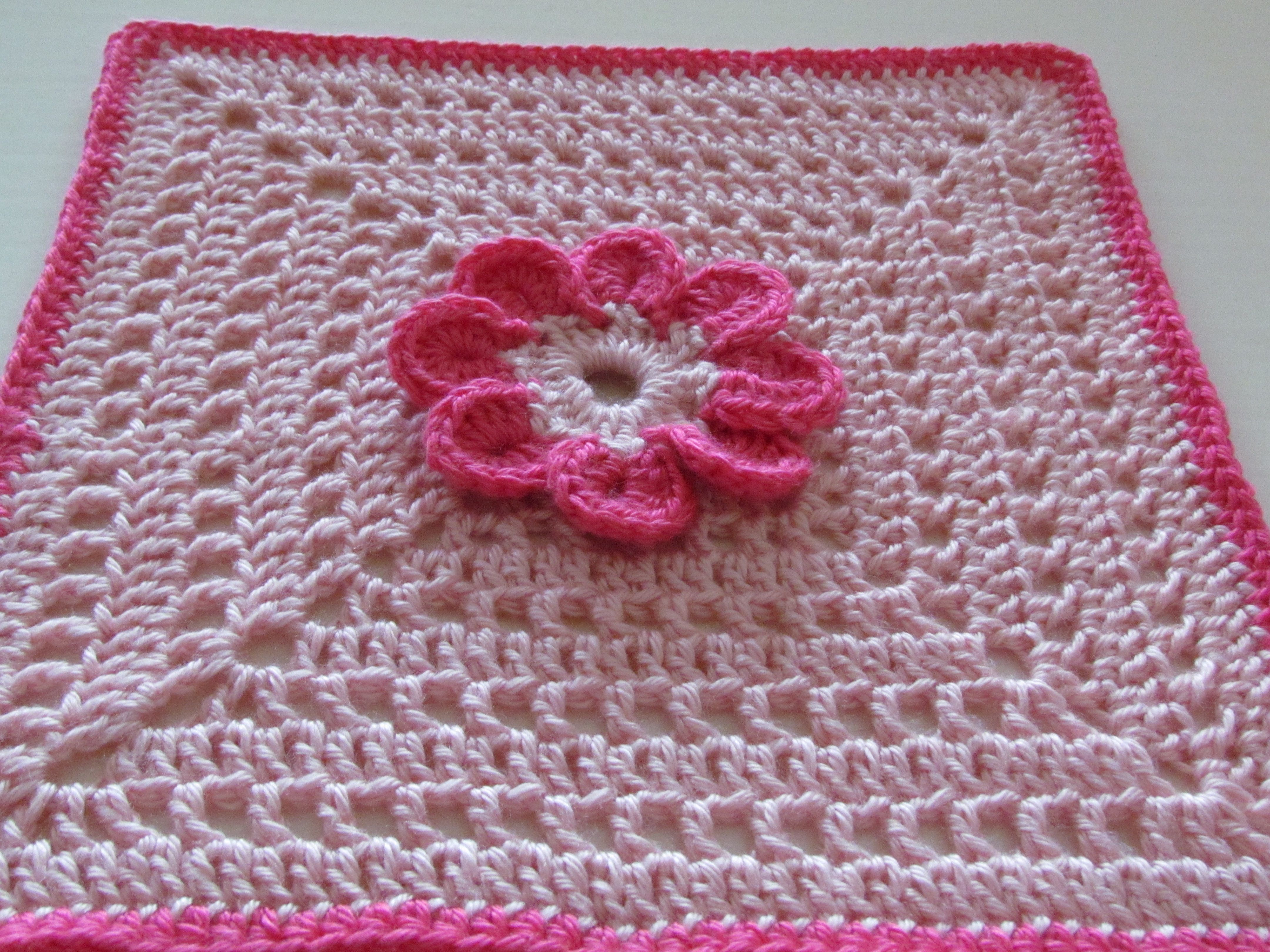 8 petal flower afghan square free crochet pattern crochet 8 petal flower afghan square free crochet pattern bankloansurffo Image collections