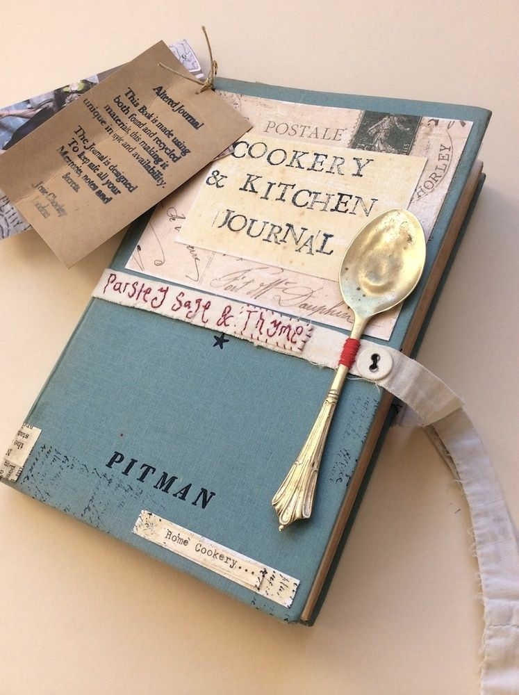 A cookery and kitchen Journal Does not link to anything but - recipe journals