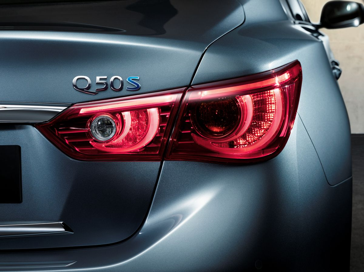 Infiniti Q50 Design An Inheritance of Riches.