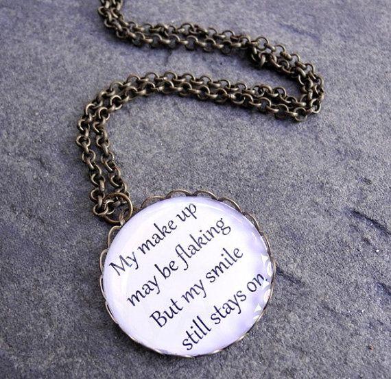 Freddie Mercury Lyrics Necklace Queen Band Necklace Music Etsy Necklace Quotes Music Necklace Band Necklace