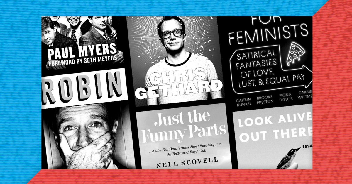 The 10 Best Comedy Books of 2018 Books, Comedy, Veggie dogs