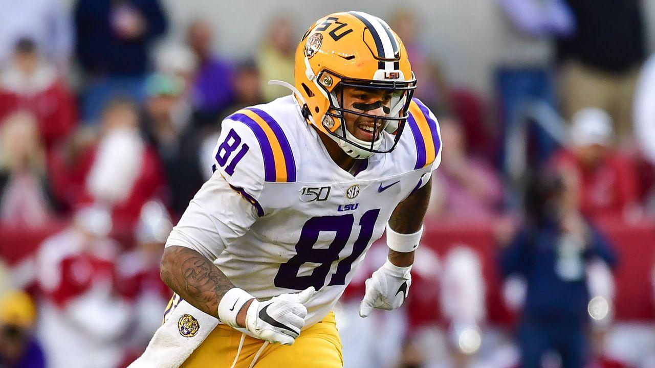 Thaddeus Moss, LSU TE 2020 NFL Draft profile National