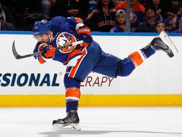 46577b188 Johnny Boychuk Photos - Philadelphia Flyers v New York Islanders - Zimbio  Hockey News