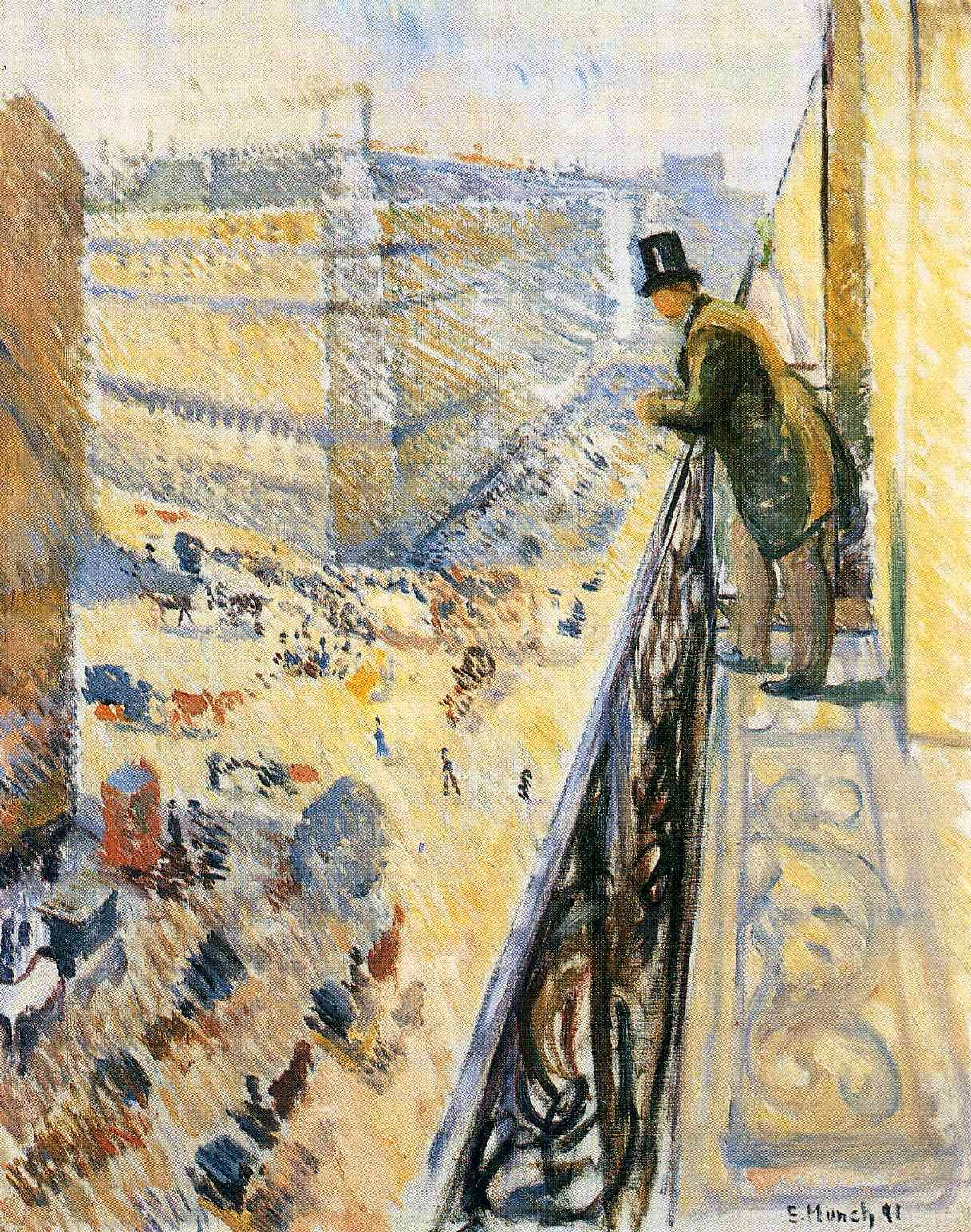 Street Lafayette by @artistmunch #impressionism