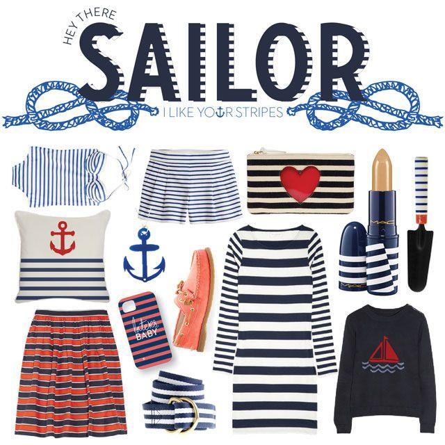 sailor   Nautical Preppy - Preppy style, Fashion en Sailor ...  Preppy