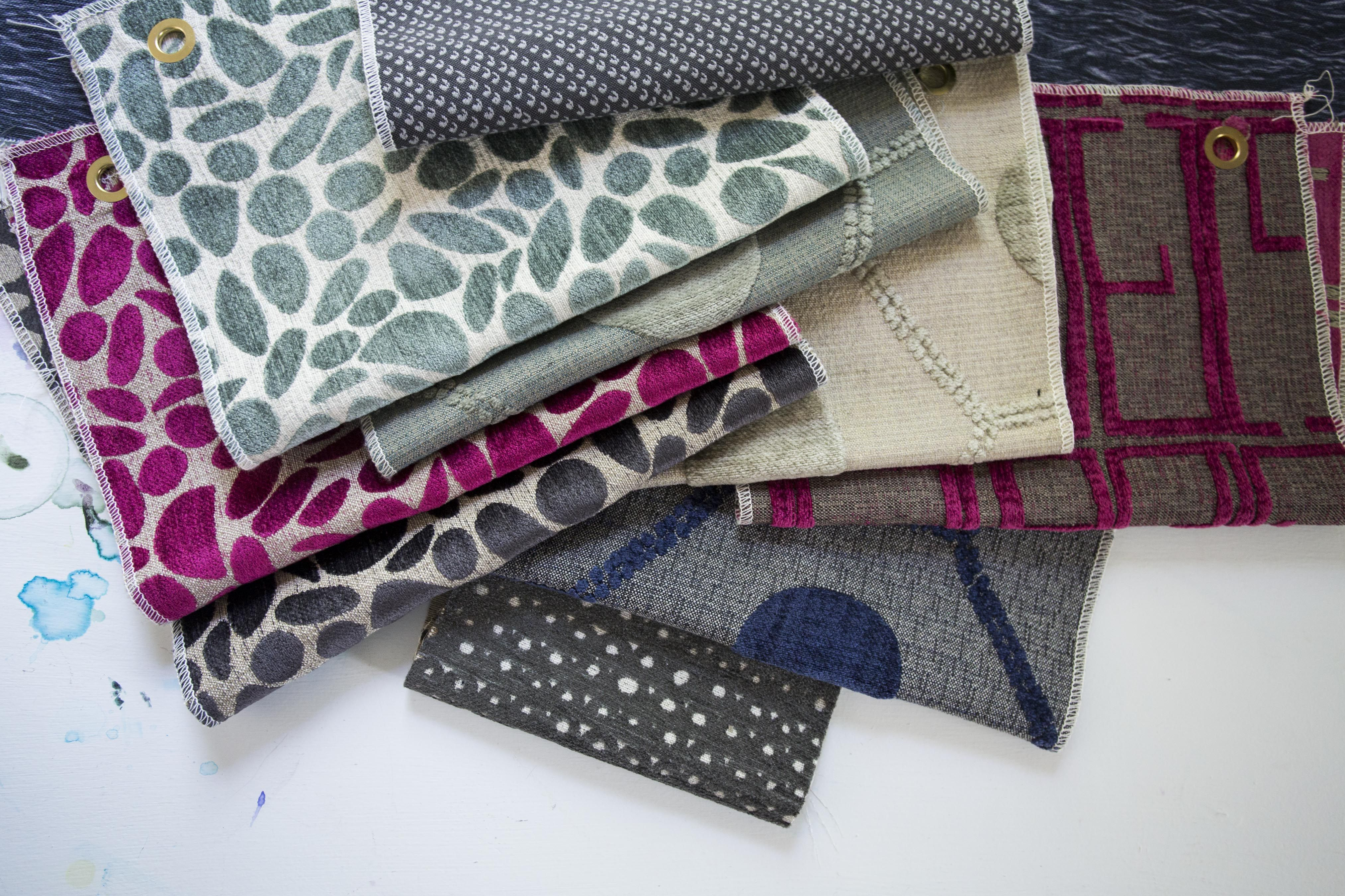 Exclusive Hable Construction fabrics for Hickory Chair