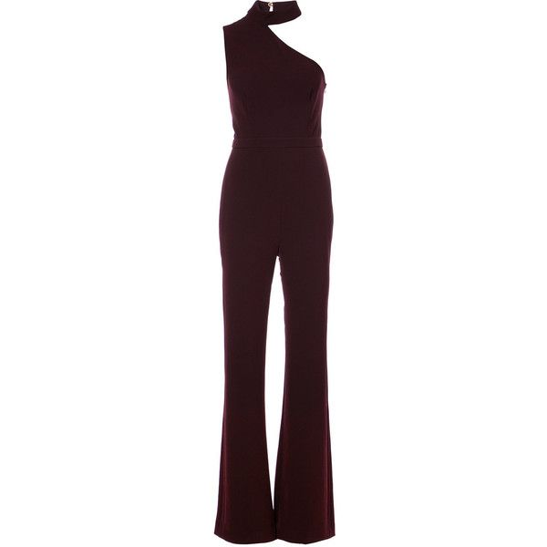 93f64a9a03c Rachel Zoe Asymmetric Jumpsuit ( 425) ❤ liked on Polyvore featuring  jumpsuits