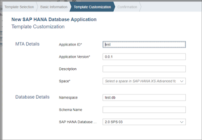 XSA and SAP Web IDE For SAP HANA 2 0 SPS 03 Feature Revision 1: New