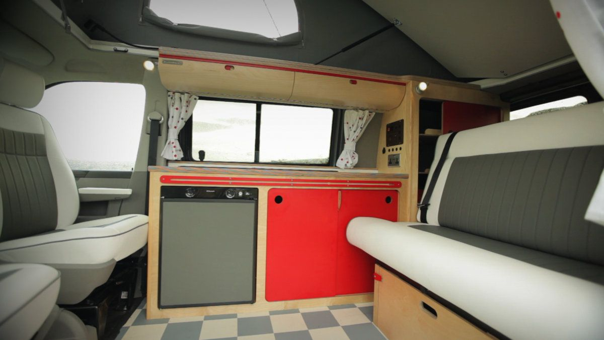 Campervan Conversion Diner Interior Check Out Our Website Cambeecouk