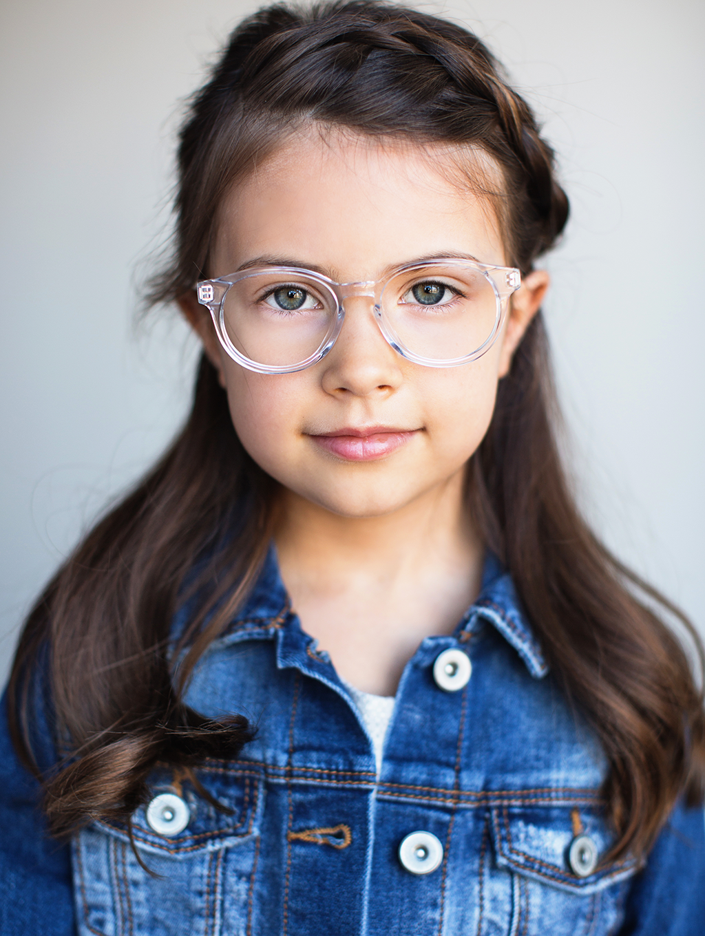 9dd48cf0a7b Limited Edition Kids Glasses    The Paige Clear