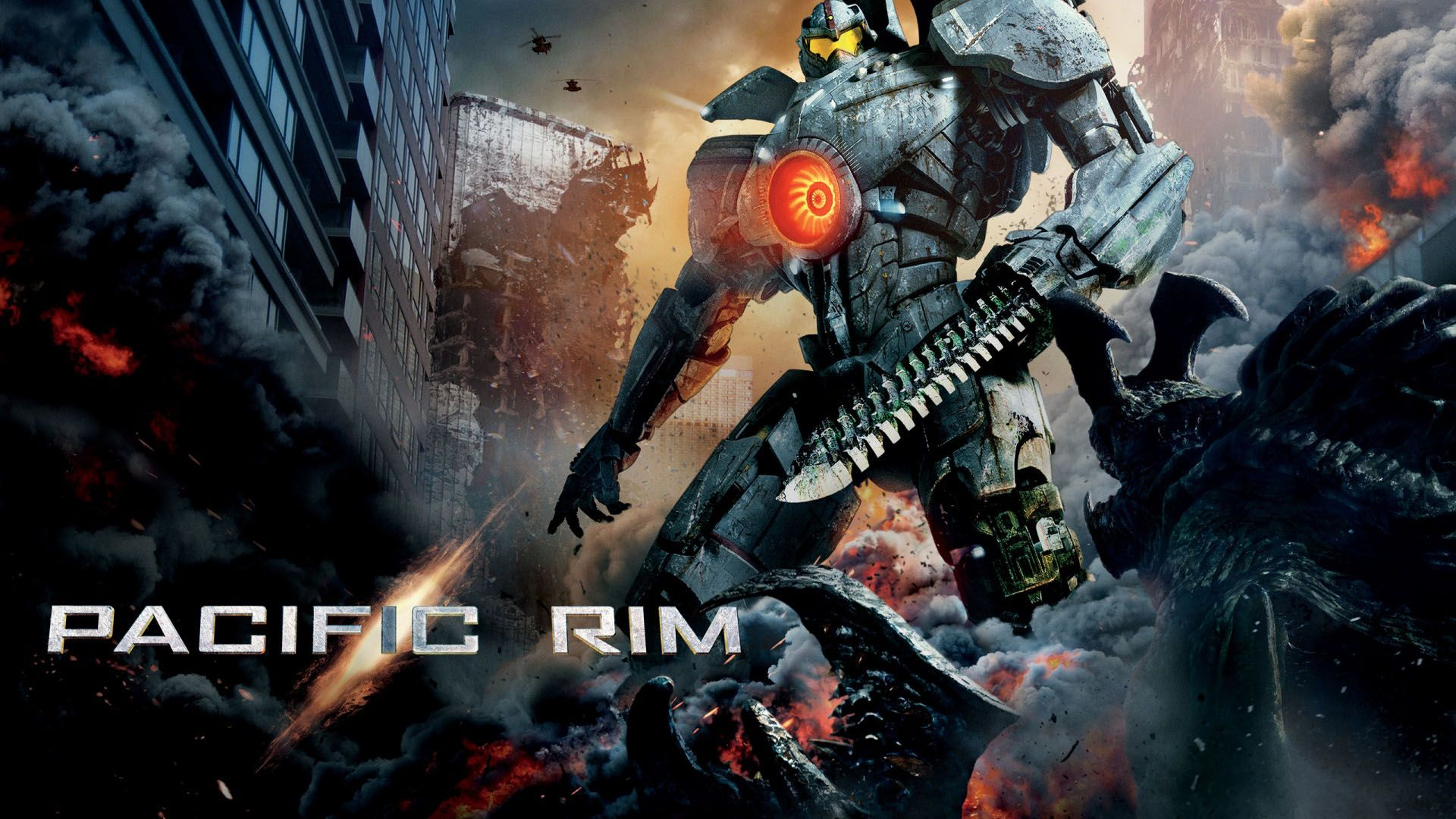 pacific rim kaiju robots - wallpapers pc free download | places to