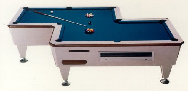 Weird Tables 10 weird-shaped pool tables | pool table, zig zag and men cave