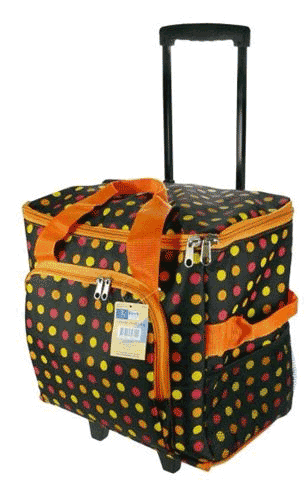 4 Wheeled Sewing Machine Trolley Bag Everything Mary 360° Rolling Sewing Case