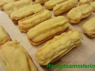 Kekse: ORANGENSTÄBE mit Cointreau-Füllung - Essen und Trinken -
