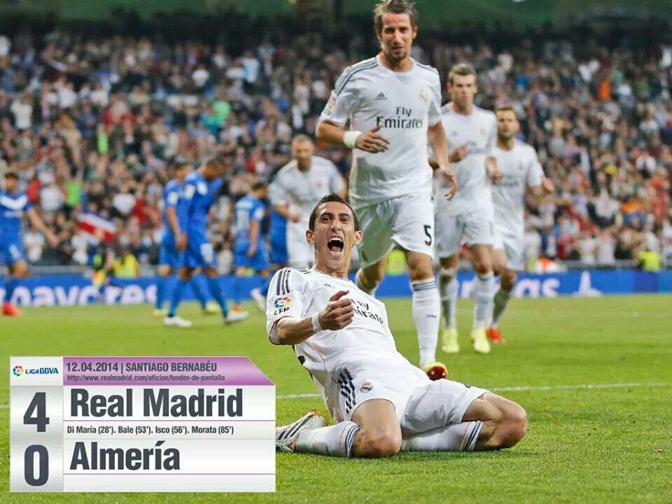 Pin De Hala Hala En Hala Madrid Real Madrid Almeria Bernabeu
