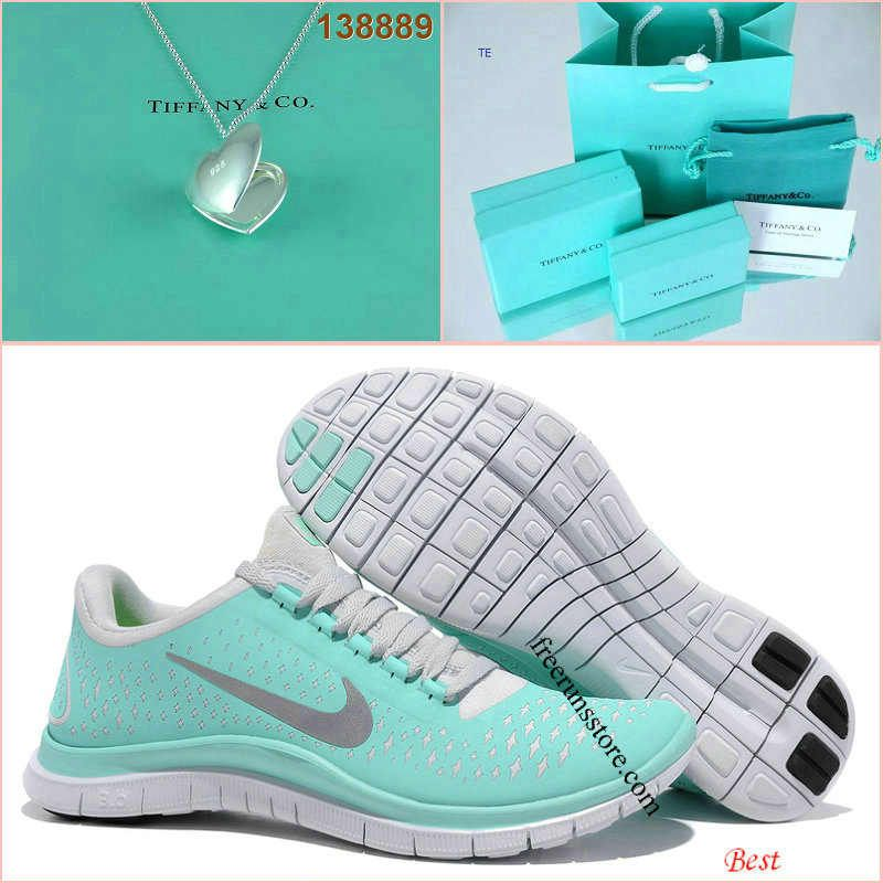 7c9e0e7a1b5b Nike Free 3.0 V4 Tiffany Blue Silver Open Love Tiffany   CO Necklace ...