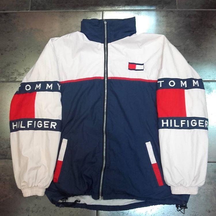 Not For Sale Vintage Tommy Hilfiger Jacket Tommyhilfiger Vintagetommyhilfiger Vintaget Tommy Hilfiger Outfit Outfits For Teens Tommy Hilfiger Windbreaker
