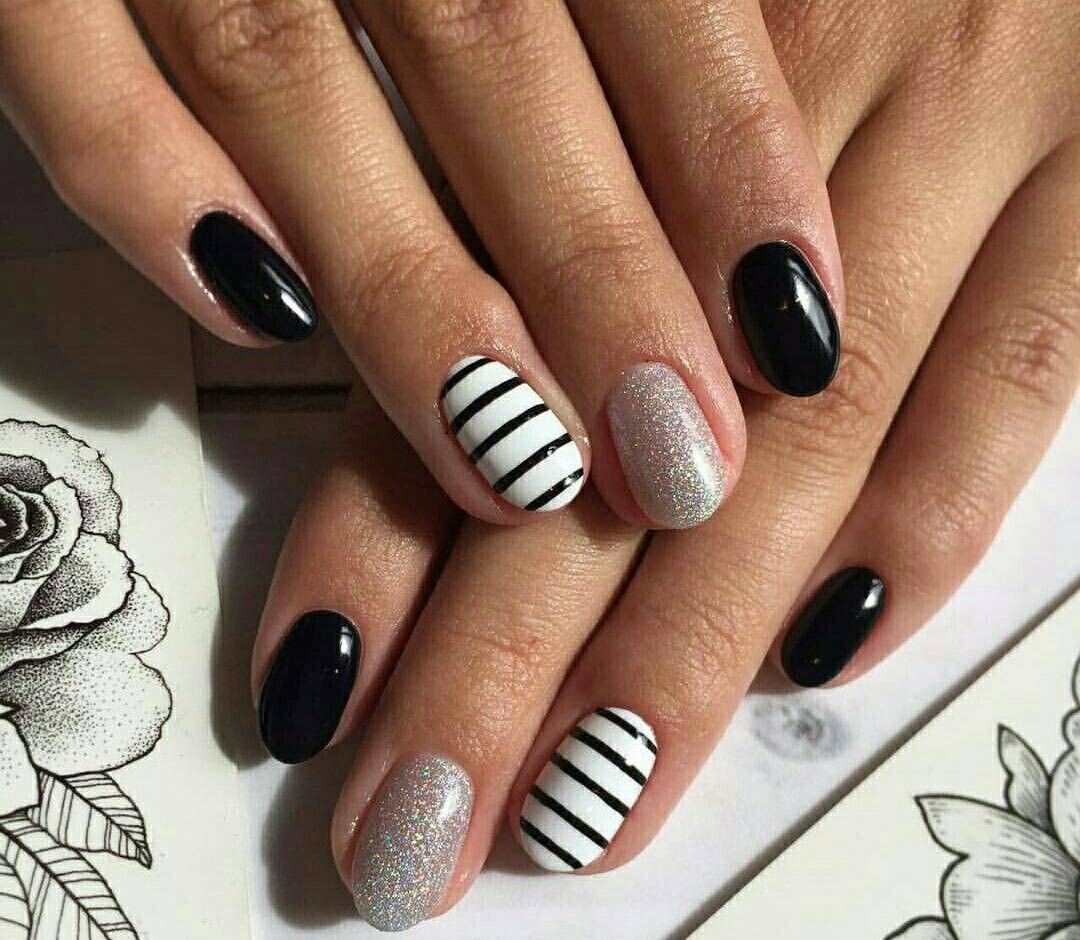 Concrete And Nail Polish Striped Nail Art: Pin By Katie Knight On Nails