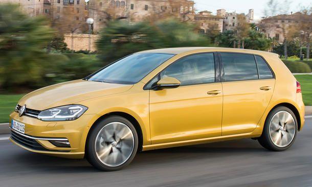 Neuer Vw Golf Gte Facelift 2017 Erste Testfahrt Neue Autos