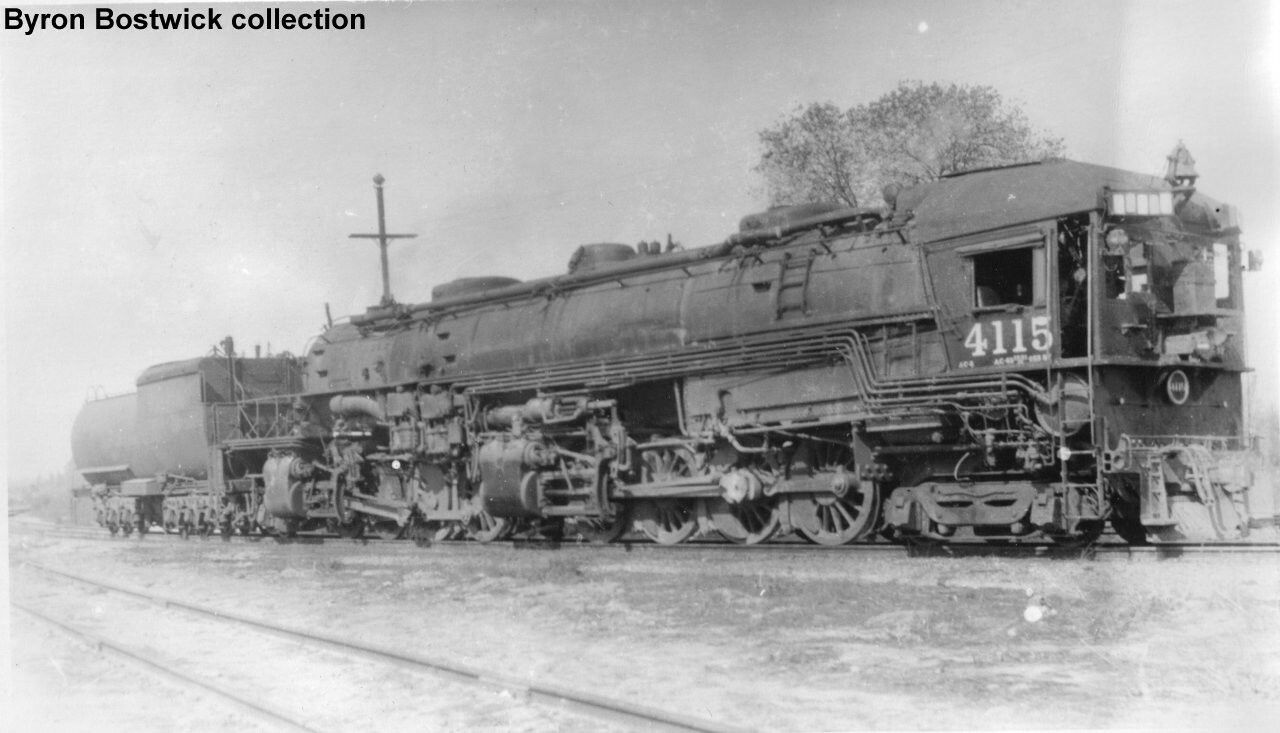 A 4882 southern pacific ac 5 cab forward