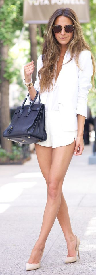 Pure White Summer Chic Outfit by Something Navy