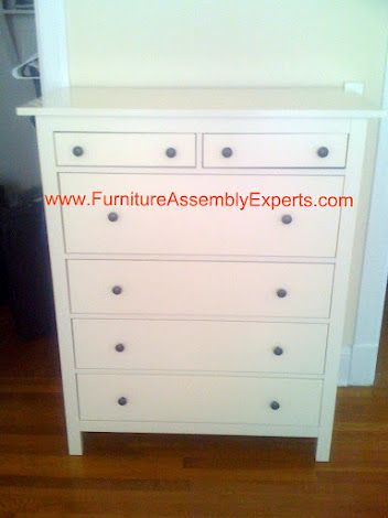 Best Ikea Hemnes White Chest Of Drawers Assembled In Adams 400 x 300