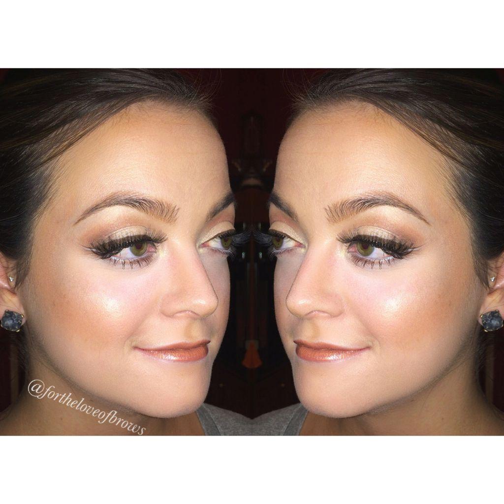 Leidan Mitchell Salon Brow artist, Lip tar, Makeup