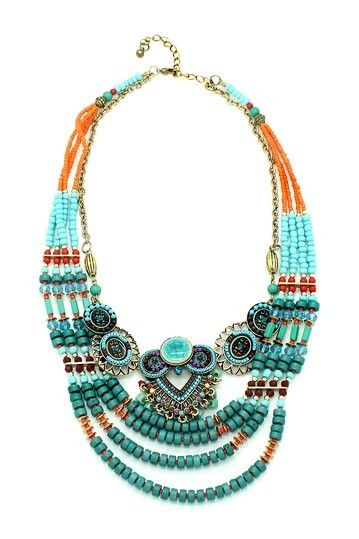 3a6ddad1c Eye Candy Los Angeles Piper Necklace | Jewelry that I Want | Beaded ...