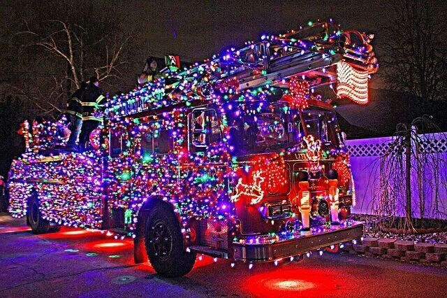 Fire truck decorated from Portsmouth Ohio - Fire Truck Decorated From Portsmouth Ohio FIREFIGHTERS STUFF