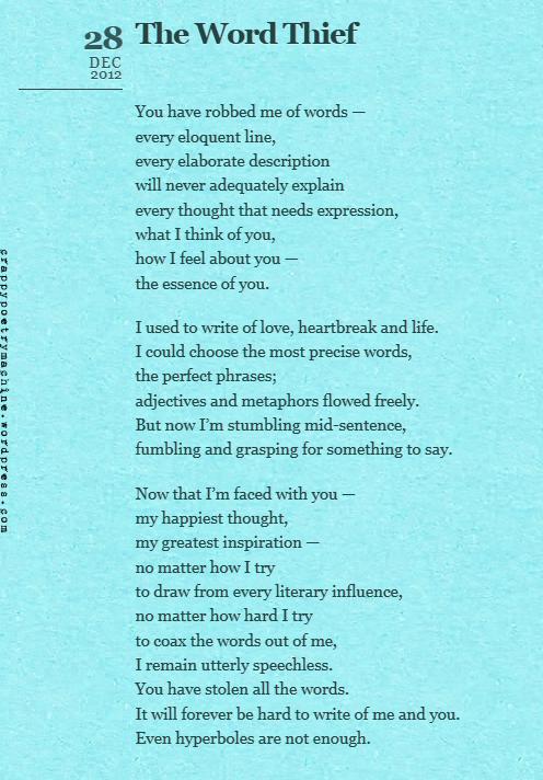 Short Love Poems - Inspirational Words of Wisdom