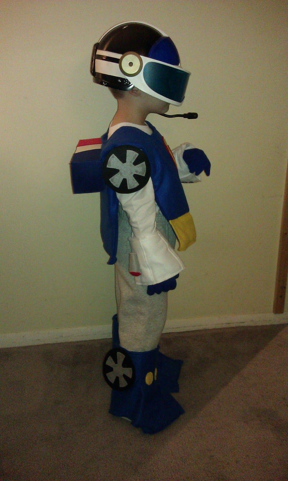 Chase Rescue Bot Costume - homemade by jill: October 2012 ...