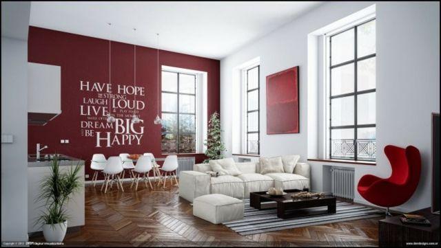 Exemple Deco Salon Moderne Chic : A Voir Sur Http://www.photosdecoration