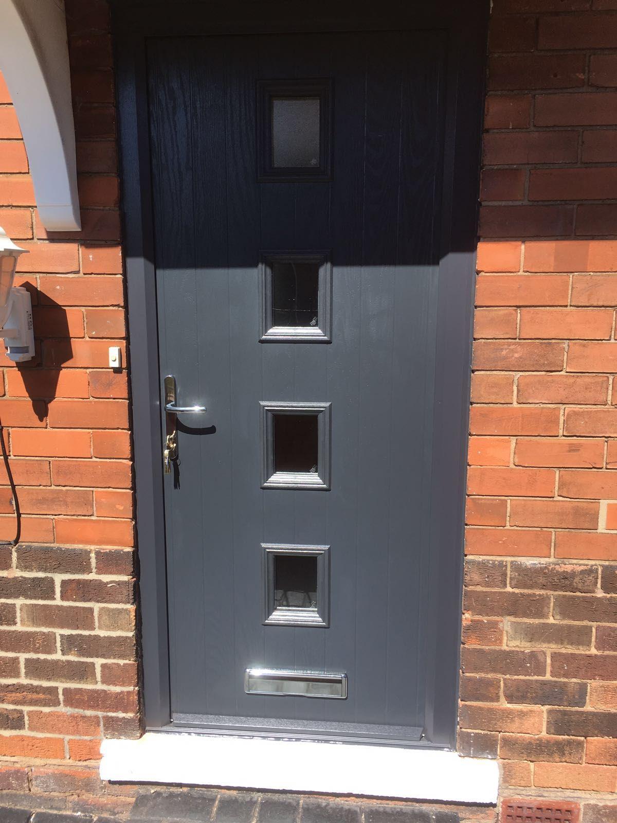 Cute Contemporary Front Doors Design 28 Contemporary Front Door Designs Uk Modern Front Door: Composite Door, Composite Front Door, Grey Window Frames