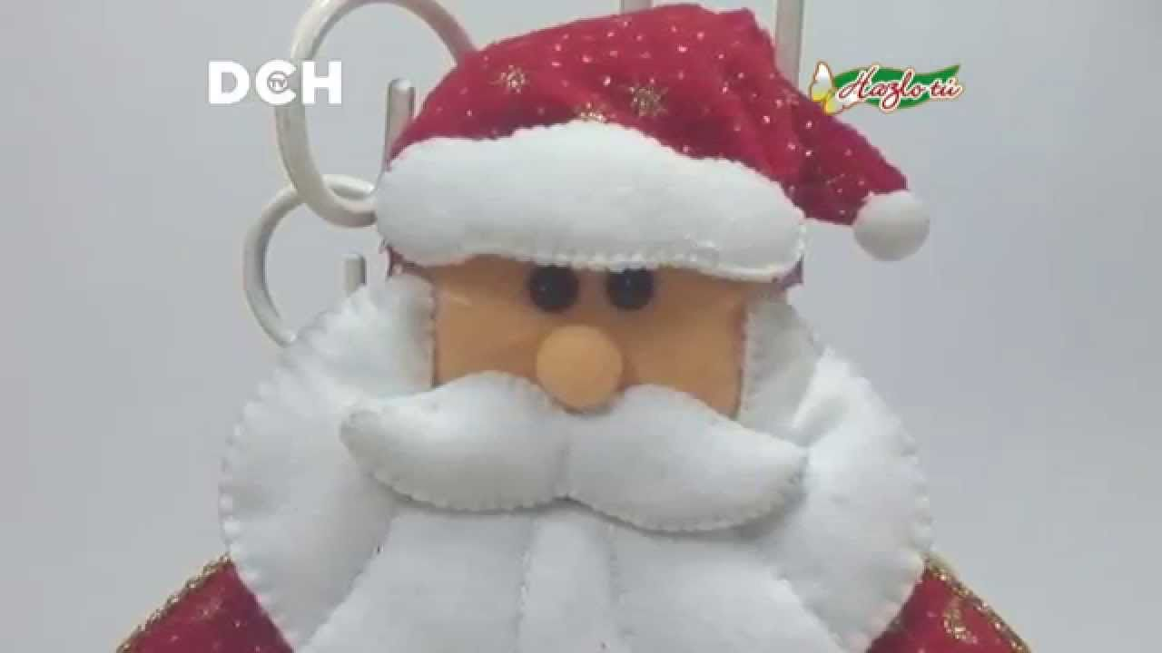 Santa De Pared Noel Natal Patchwork