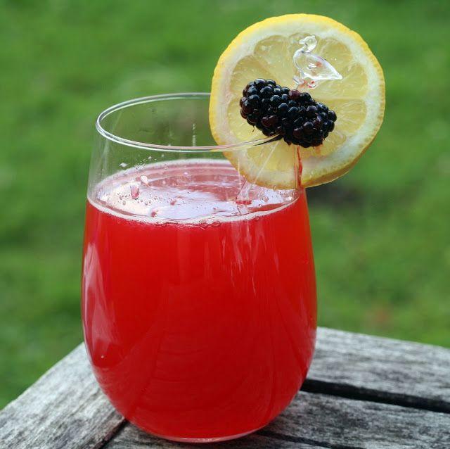 Blackberry Thai Basil Lemonade