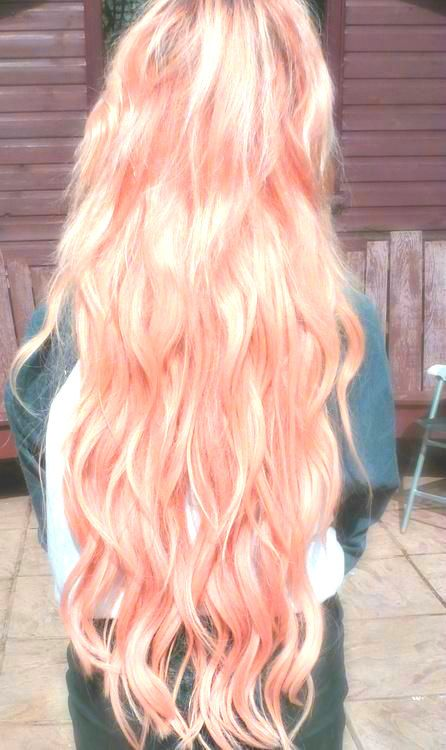 Hair Chalk Light Pink Temporary Hair Color By Salonchalks