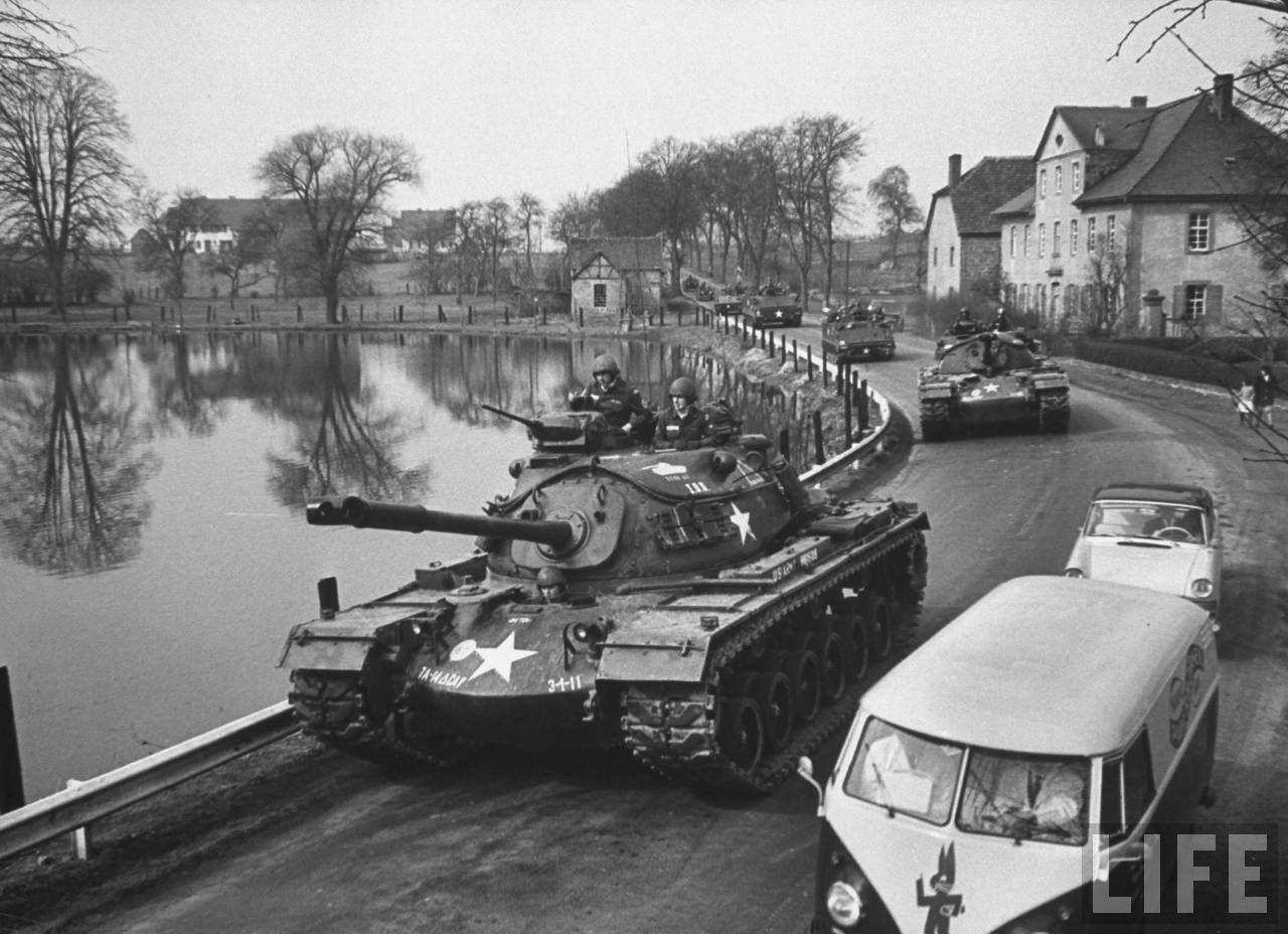 m48 patton tanks in germany 20th 21st century armor artillary pinterest patton tank. Black Bedroom Furniture Sets. Home Design Ideas
