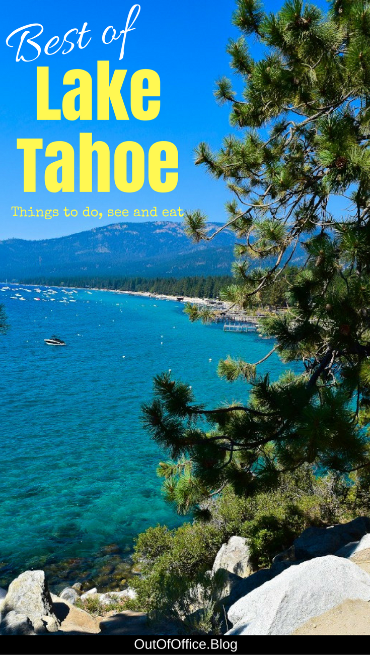 Lake Tahoe Is A Stunning Resort City With Cobalt Blue Nestled In The Sierra Nevada Mountains Known For Its Outdoor Lifestyle And Activities